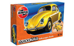 Airfix Quick Build - VW Beetle (Yellow) - J6023