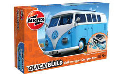 Airfix Quick Build - VW Camper Van (Blue) - J6024