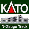 KATO N-Gauge UniTrack - Turnouts, Points, Straights, Curves