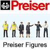 Preiser Figures - High Quality OO Scale