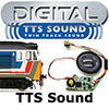 Hornby TTS Locomotive Sound Decoders - Twin Track Sound - Steam and Diesel