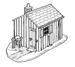 Cooper Craft - 2002 - Platelayer's Hut - Model Railway Plastic Kits