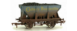Dapol 21t Hopper Cadbury Bournville 156 Weathered - 4F-033-101