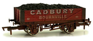 Dapol 4 Plank Wagon Cadbury Weathered - 4F-040-010