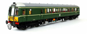 4D-015-005 - Dapol Class 122 BR Green Small Yellow Panel W55007
