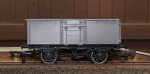 Dapol Model Railway Wagon - Unpainted 16T Mineral Wagon - A008