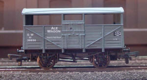 Dapol Model Railway Wagon - GWR Ale Wagon - B549