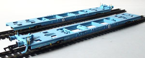 Dapol Model Railway Wagon - Dapol Metafret Container Wagon - Twin Pack 'Freightliner' - B782A B782B B782C B782D