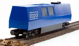 Dapol Model Railway - Dapol HO/OO Gauge DCC Ready 5 Way Track Cleaner - B800