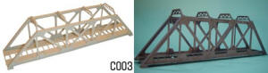Dapol Model Railway Plastic Kits - Girder Bridge - C003