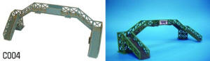 Dapol Model Railway Plastic Kits - Footbridge - C004
