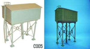 Dapol Model Railway Plastic Kits - Water Tower - C005
