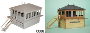 Dapol Model Railway Plastic Kits - Signal Box - C006
