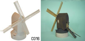 Dapol Model Railway Plastic Kits - Windmill - C016