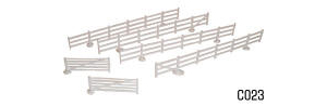 Dapol Model Railway Plastic Kits - Fences and Gates - C023