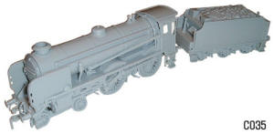 Dapol Model Railway Plastic Kits - Schools Class Harrow Locomotive - C035
