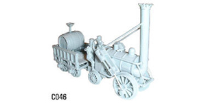 Dapol Model Railway Plastic Kits - Stephenson's Rocket - C046