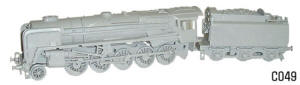 Dapol Model Railway Plastic Kits - Evening Star Locomotive - C049