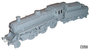 Dapol Model Railway Plastic Kits - 2-6-0 BR Mogul Locomotive - C059