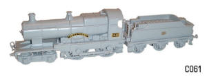 Dapol Model Railway Plastic Kits - Dapol City of Truro Locomotive - C060