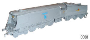 Dapol Model Railway Plastic Kits - Battle PF Britain 257 Squad Locomotive - C083