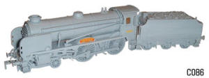 Dapol Model Railway Plastic Kits - Schools Class Shrewsbury Locomotive - C086