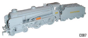 Dapol Model Railway Plastic Kits - Schools Class Rugby Locomotive - C087