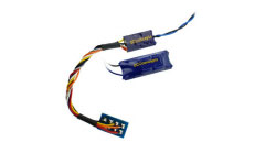 DCD-ZN8H - DCC Concepts - ZEN NANO 8 Pin Wired 2 Function Decoder w/Stay Alive