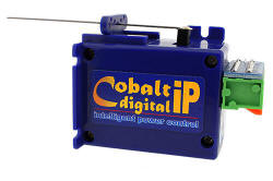 DCC Concepts - COBALT iP Slow Action Digital Point Motor (Single) DCP-CBDIP