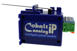 DCC Concepts - COBALT ip Slow Action Analogue Point Motor (Single) - DCDCP-CB1IP