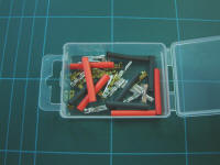 Expo - A23000 Micro Spade Connectors and Heat Shrink Pack of 10