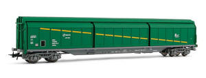 Electrotren HO Guage Model Railway - Hornby International - HE5563 Sliding wall boxcar �Cargas RENFE Agr�cola�.
