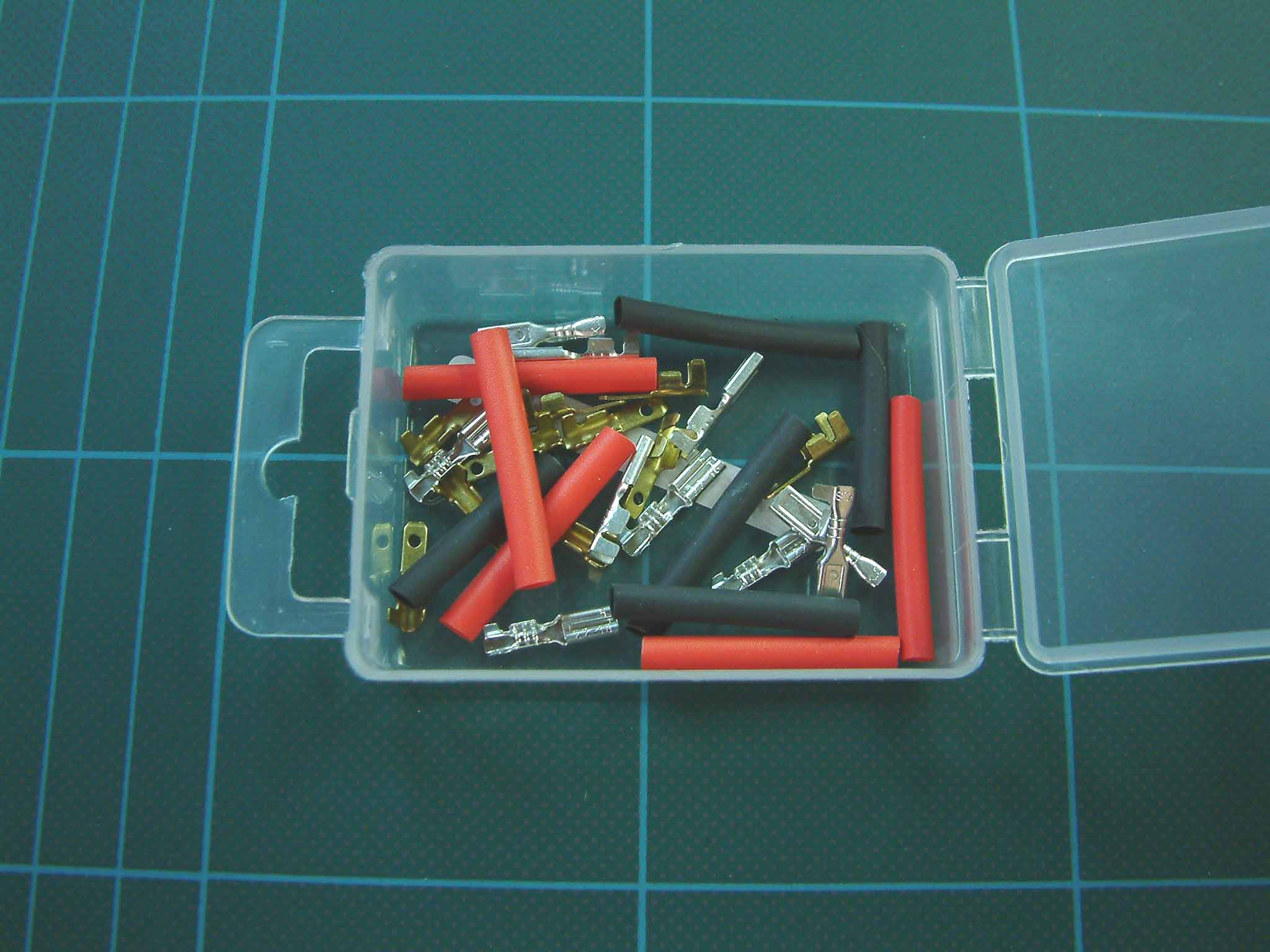 Model Railway Shop Electronics Wire Connectors And Battery Packs Gm Ignition Fuse Box Connector Expo A23000 Micro Spade Heat Shrink Pack Of 10