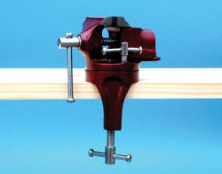 Expo Tools - Superior 'Pearl Finish' Swivel Vice with Bench Clamp - 79503