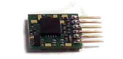 Gaugemaster - 6 Pin N-Gauge Plug in Decoder - DCC23