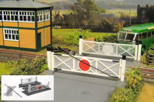 Gaugemaster - Fordhampton Level Crossing Plastic Kit - GM404