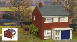 Gaugemaster - Fordhampton Level Crossing Plastic Kit - GM405