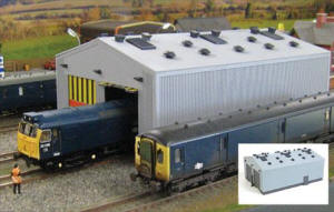 Gaugemaster - Fordhampton Locomotive Depot Plastic Kit - GM406