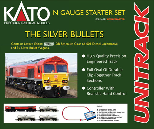 N-Gauge Model Railway Locomotives, Coaches and Wagons - New