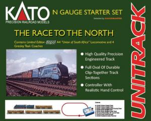 KATO UniTrack - N-Gauge Ballasted Model Railway Track