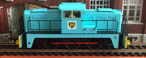 GV2014 - Golden Valley Hobbies - Janus 0-6-0DE Shunter - BP