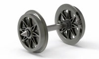 Hornby Replacement Split Spoked Wheels - R8100
