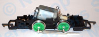Hornby Spares - 0-4-0 Motor and Chassis Assembly - X2259A