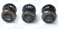 Hornby Spares - 0-6-0 Wheel and Axle Set - X8871W