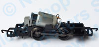Hornby Spares - 0-4-0 Motor and Chassis Assembly - X8961