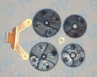 Hornby Spares - Replacement Ringfield (5 Pole) Gears - X9023
