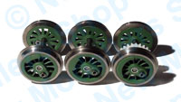 Hornby Spares - Wheel Axle Set - Terrier R2443 - X9344