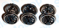 Hornby Spares - Class 08 Wheel and Axle Set - X9372