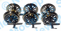 Hornby Spares - Class 08 Wheel and Axle Set - X9372m