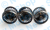 X9744 - Hornby Spares - Locomotive Drive Wheel Set - Royal Scot Class